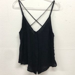 free people intimately strappy black top
